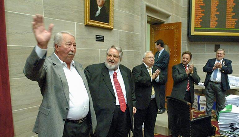 Bob Griffin House Speaker Obit (Photo courtesy Tim Brommel - Missouri House of Representatives)