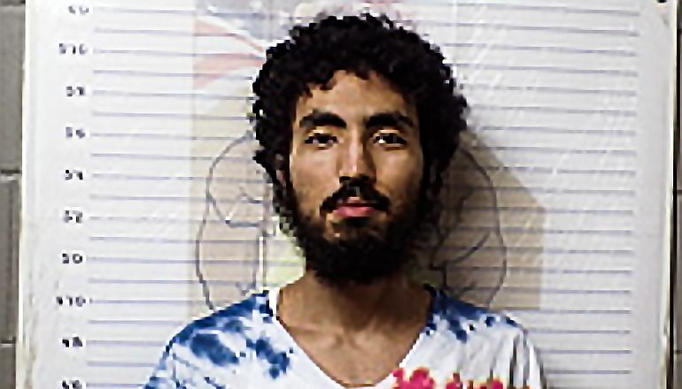 Booking photo of Thirty-three-year-old Yassine Bouyassine (Photo courtesy Morgan County Sheriff)