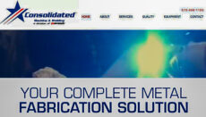 Consolidated Machine and Welding website
