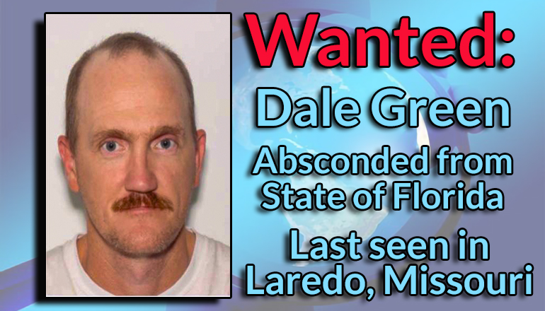 Dale Green Wanted Graphic