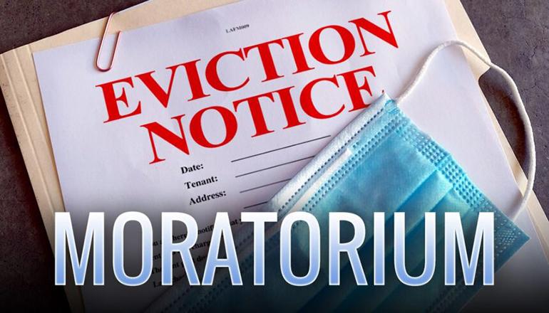 Eviction Moratorium Graphic