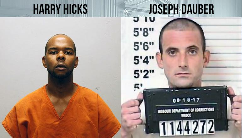 Harry HIcks and Joseph Dauber Booking Photo