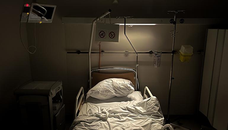 Hospital Bed (Photo by Frederic Köberl on Unsplash)