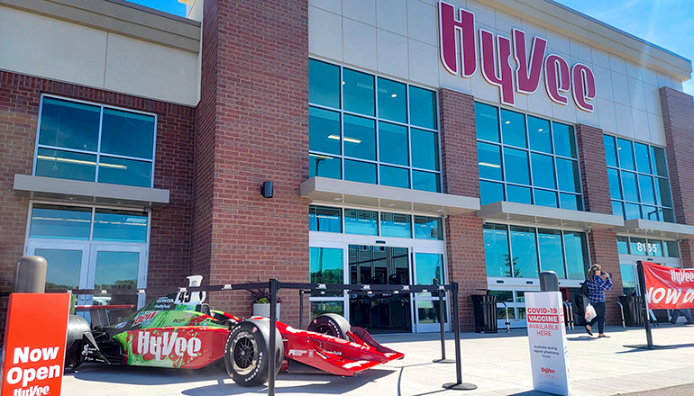 Hy-Vee Indy Show Car