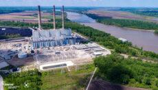 Labadie Energy Center on Missouri RIver in Franklin County Missouri