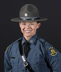 MSHP Trooper Molly Gach assigned to Troop H