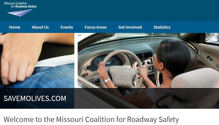 Missouri Coalition for Roadway Safety or Save More Lives website