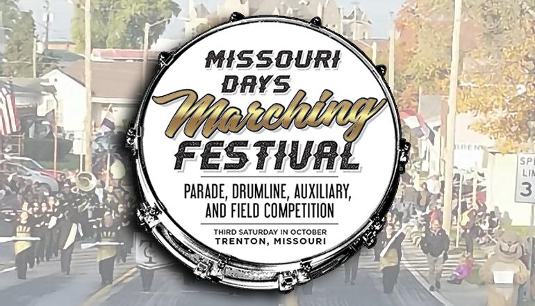 Missouri Marching Festival Graphic 2021