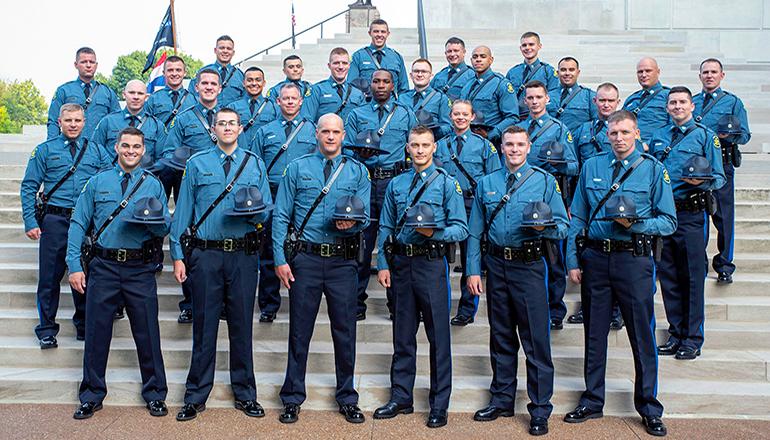 Missouri State Highway Patrol 111th Recruit Class Graduation