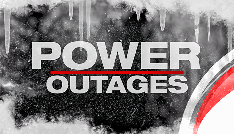 Power Outage News Graphic