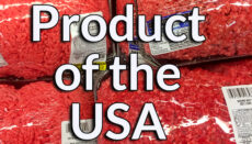 Product of the USA beef or meat