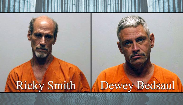 Ricky Smith and Dewey Bedsaul Booking Photo