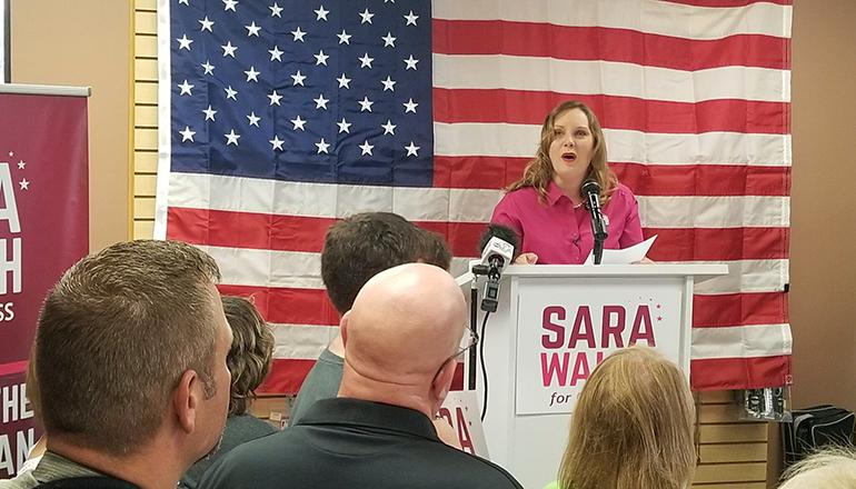 Sara Walsh (Photo courtesy of Rudi Keller at Missouri Independent)