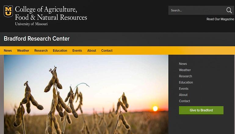 University of Missouri Bradford Research Center