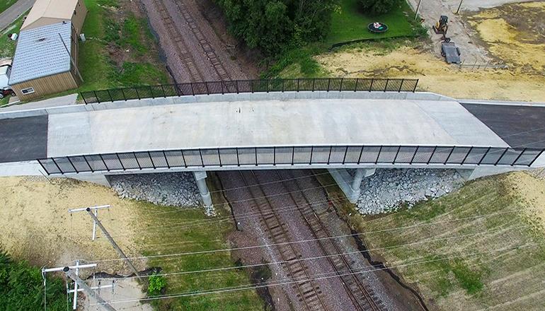 17th Street Bridge Overhead Photo
