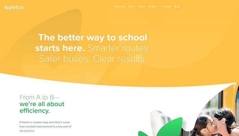 Apple Bus Company website