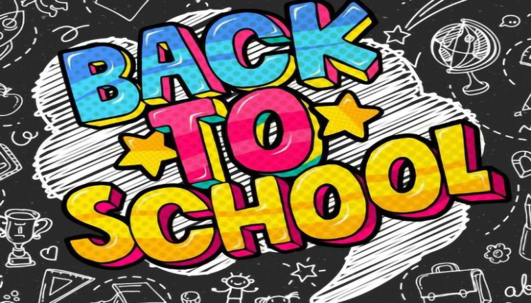 Back To School news graphic