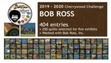 Bob Ross Cherry Wood Challenge