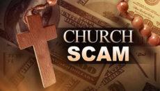 Church Scam News Graphic