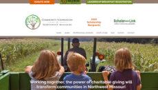 Community Foundation of Northwest Missouri website 2021