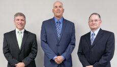 Pictured above from left to right are Kyle Kelso of Weldon, Iowa; Allan Mulnix of Bethany, Missouri, and John McCloud of Spickard, Missouri. All three were re-elected to the GRM Networks Board of Directors at the 2021 Annual Meeting of the stockholders of Grand River Mutual Telephone Corporation d/b/a GRM Networks. The meeting was held at 10 a.m. August 18, 2021, at the GRM Networks corporate office in Princeton, Missouri.