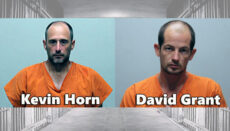 Kevin Horn and David Grant booking photo