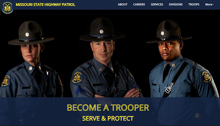 MSHP Become a Trooper Website