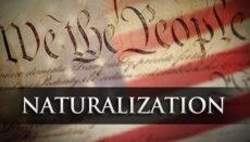 Naturalization news graphic (U.S. citizen)