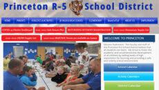 Princeton R-5 School District website 2021 -2022