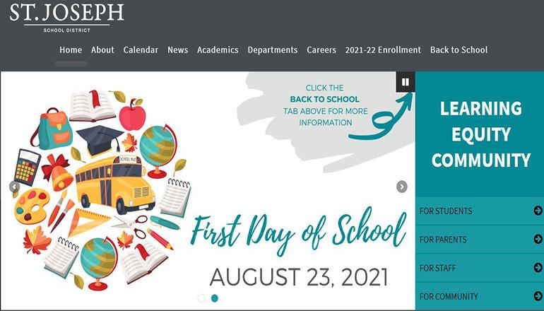 St. Joseph School District Website
