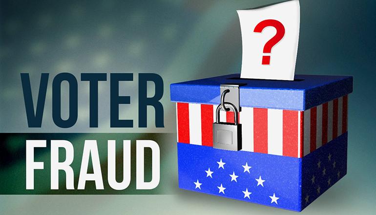 Voter Fraud graphic