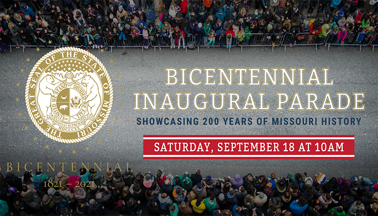Bicentennial Inaugrual Parade Graphic
