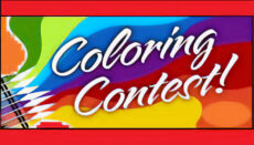Coloring Contest news graphic