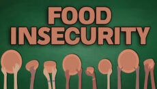 Food Insecurity News Graphic