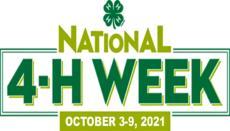 National 4-H Week October 2021