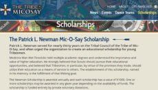 Patrick L. Newman MIC-O-SAY Scholarship