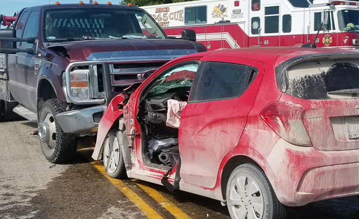 Spickard Woman Life Flighted after Crash in Mercer County