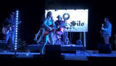Sunny Sweeney on stage at leadership northwest mo music jam