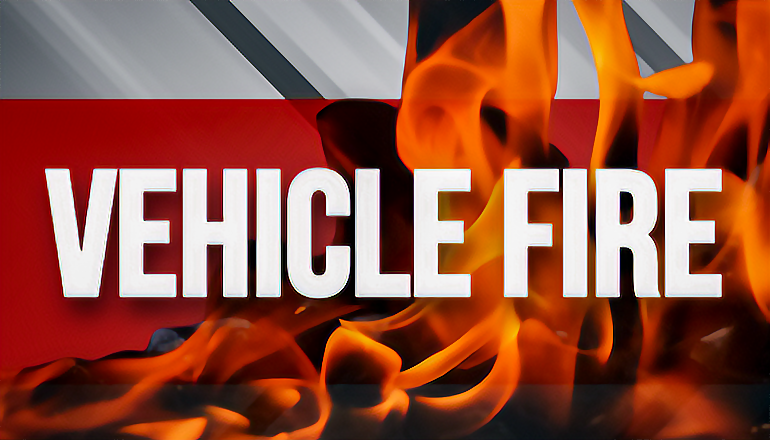 Vehicle Fire news graphic
