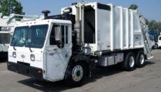 2002 Crane Trash Truck
