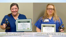Ashley Stiles and Shawnette Greet Receive DAISY awards at WMH