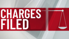 Charges Filed news graphic