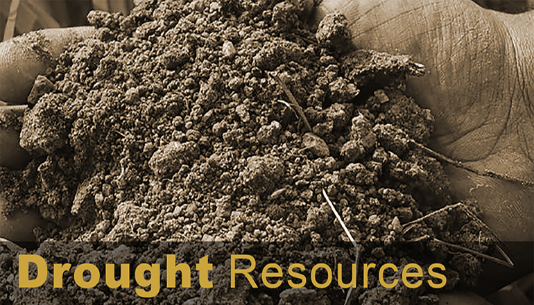 Drought Resources news graphic