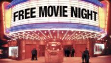 Free Movie Night Graphic