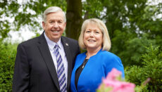 Governor Mike Parson and First Lady Teresa Parson