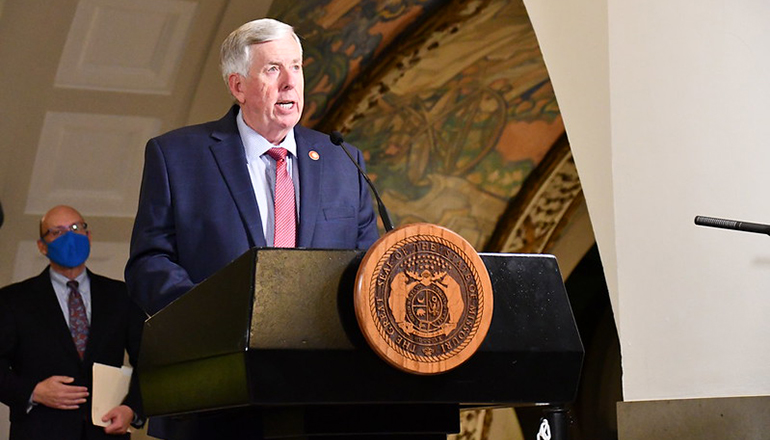 Governor Mike Parson