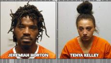 Jeremiah Horton and Tehya Kelley Booking Photo