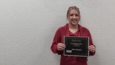 Jillian Simpson has been awarded the NCMC Upward Bound Dual Credit Scholarship