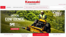Kawasake Engines Website