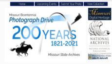 Missouri BIcentennial Photograph Drive website